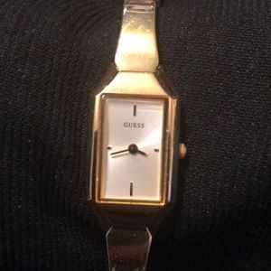 Woman's Guess watch.
